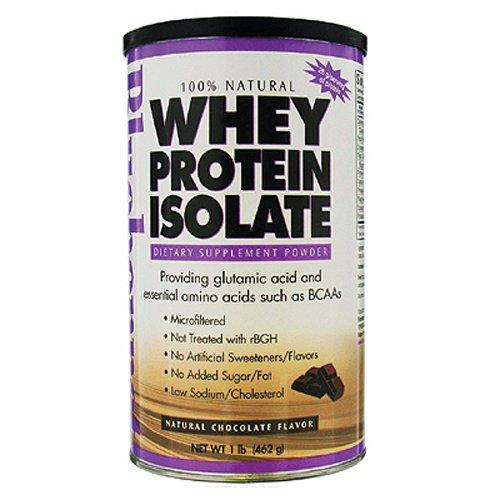 Nutrition Bluebonnet - 100% naturel Whey Protein Isolat chocolat en poudre à saveur naturelle - £ 1