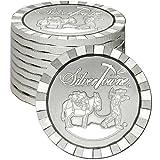 SilverTowne Stackable Prospector Silver Rounds (Silver, 1 oz)