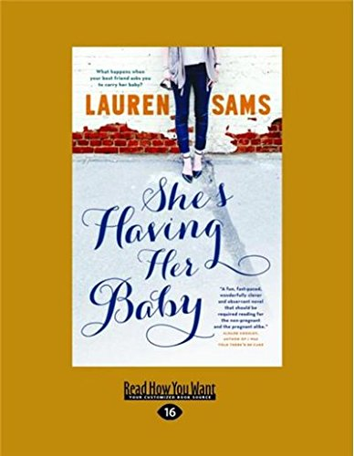 Download She's Having Her Baby (Large Print 16pt) pdf epub