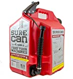 SureCan - Gas Can with Rotating Spout - 5.0 Gallon (SUR50G1)