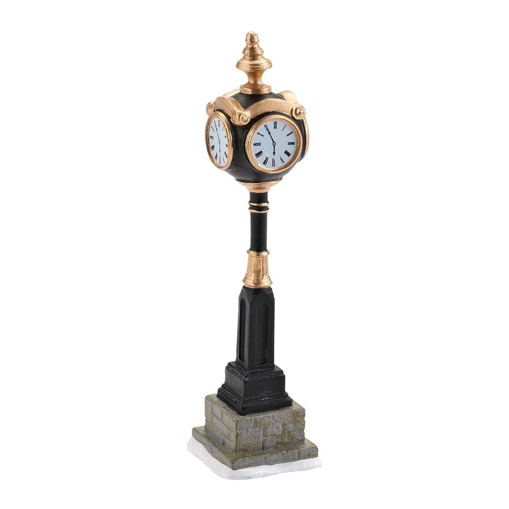 Department 56 Accessories for Villages Uptown Clock Accessory Figurine, 5.55 inch