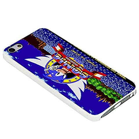 Sonic The Hedgehog Game for Iphone Case (iPhone 6s plus white) (Sonic Iphone 4s Case)
