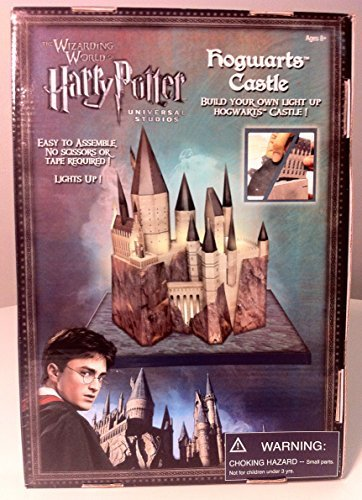 Wizarding World of Harry Potter : Build Your Own 3D, Light Up Hogwarts Castle Diorama Model Kit (Hogwarts Castle Model compare prices)