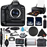 6Ave Canon EOS-1D X Mark II DSLR Camera (Body Only) International Version (No Warranty) + Epson SureColor P800 Inkjet Printer + 16GB & 32GB SDHC Class 10 Memory Card + Carrying Case Bundle