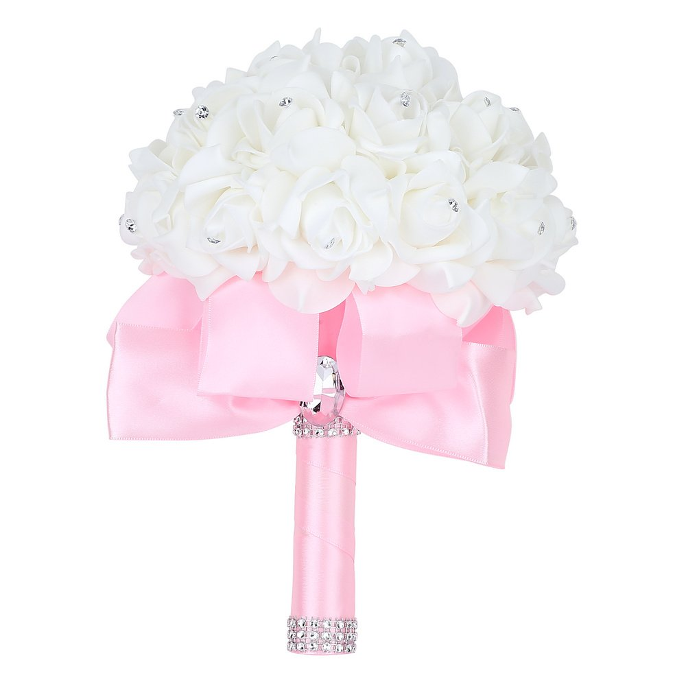 Best Pink Bridal Bouquets For Wedding Amazon