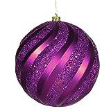 By Vickerman Purple Glitter Sw