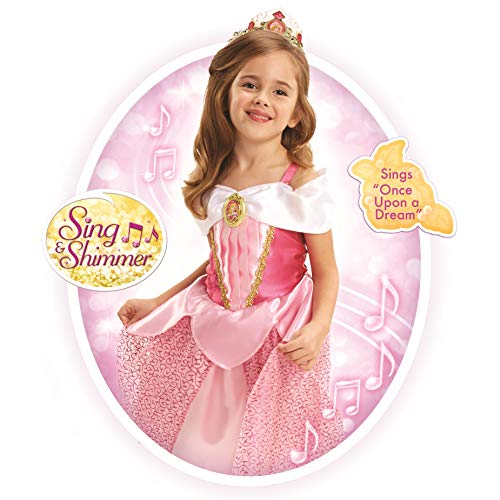 Disney Princess Aurora Sing & Shimmer Dress [Amazon Exclusive]]()