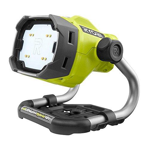 - Ryobi P795 18-Volt ONE+ Hybrid LED Color Range Work Light