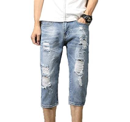 Pantalones Vaqueros De Los Hombres Vaqueros Estirados ...