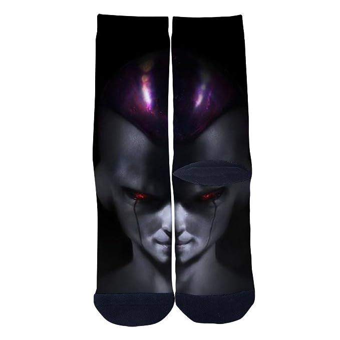 jmax un Dios de la muerte suave calcetines para hombre