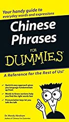 Chinese Phrases For Dummies by Wendy Abraham (2005-09-16)