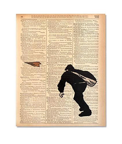 Paperboy Collection - Paper Boy Upcycled Vintage Dictionary Art Print 8x10 UNFRAMED Riot Collection