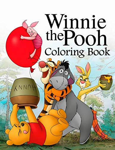 (Winnie the Pooh Coloring Book: Coloring Book for Kids and Adults)