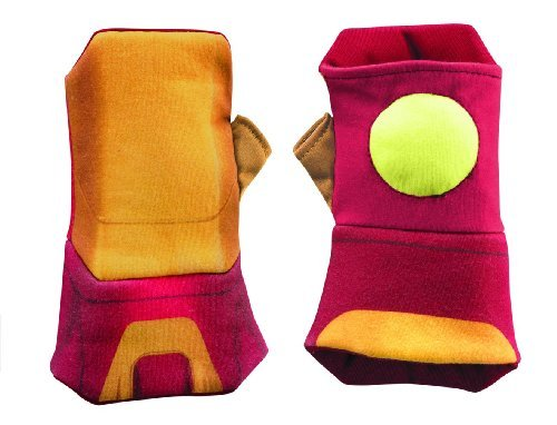 Disguise Marvel's Iron Man Movie 3: Iron Man Mark 42 Glow Soft Gauntlets (Best Ironman Costume)