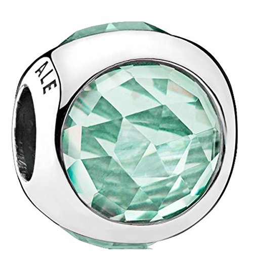 Pandora Women's Icy Green Radiant Droplets Charm - 792095NIC Droplet Charm