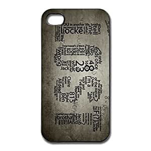 Lost Numbers Fit Series Case Cover For IPhone 4/4s - Funny Case wangjiang maoyi by lolosakes