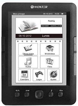 LIBRO ELECTRONICO WOXTER EBOOK E-INK SCRIBA 175 PERLA NEGRO WX623 ...