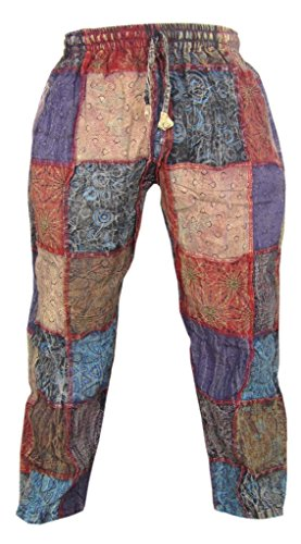 Little-Kathmandu-Patch-Cotton-Hemp-Printed-Casual-Funky-Striaght-Trousers