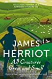 Front cover for the book All Creatures Great and Small by James Herriot