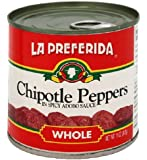 La Preferida Chipotle Peppers in Spicy Adobo Sauce