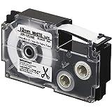 カシオ ラベルライター ネームランド テープ 12mm XR-12VWE アイロン布 白