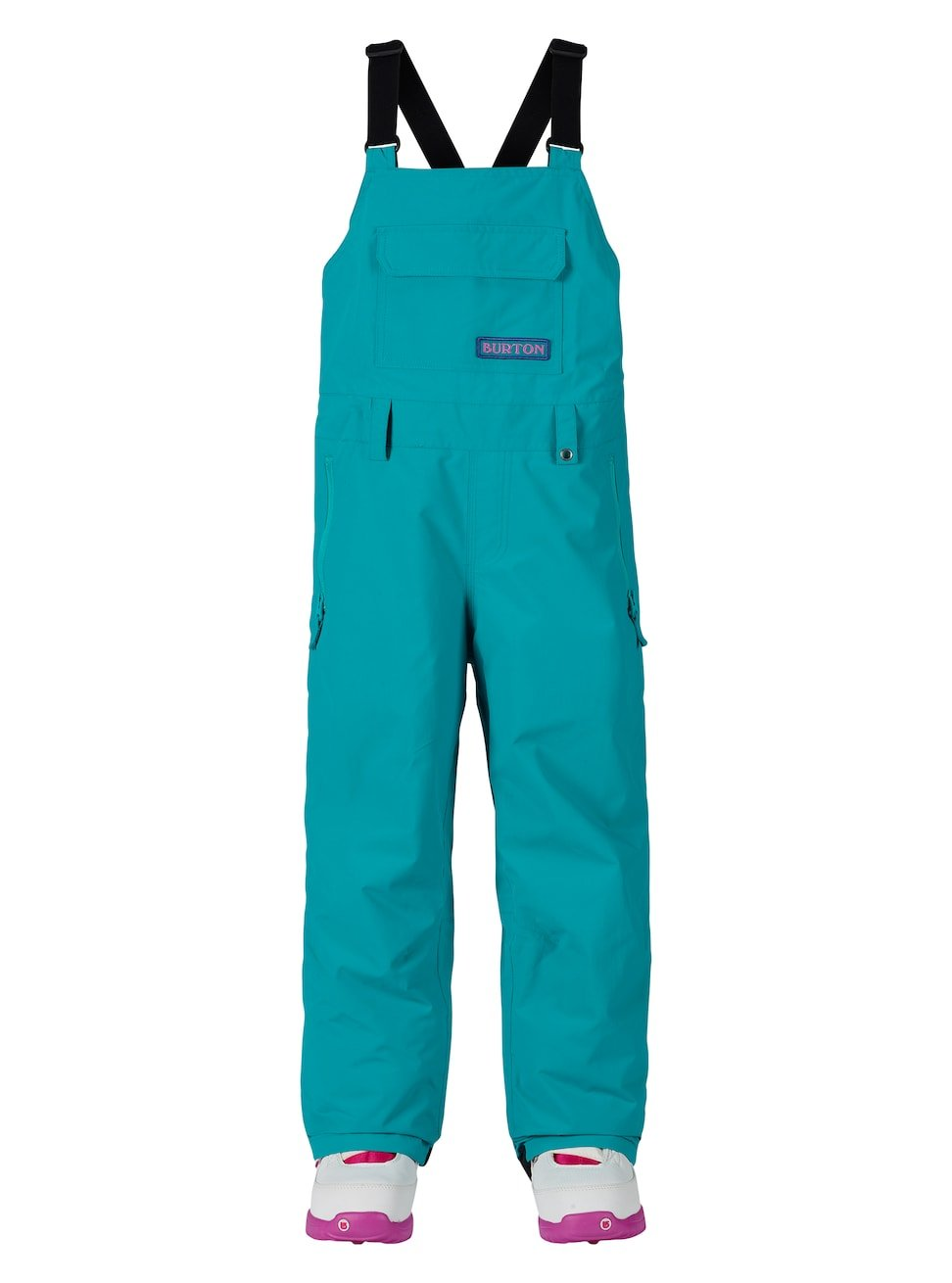 Burton Youth Skylar Bib Pants, Everglade, Large