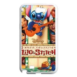 Lilo and Stitch 2 Stich Has a Glitch Samsung Galaxy N2 7100 Cell Phone Case White