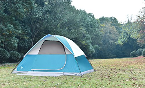Rating & ALPHA CAMP 4 Person Dome Camping Tent 4 Family Backpacking Tent ...