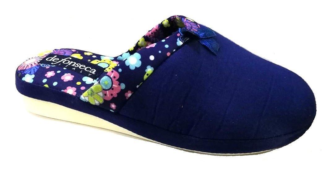 De Fonseca Ciabatte Pantofole Cotone da Donna Verona MOD. Verona Verona Donna MOD   5c031f