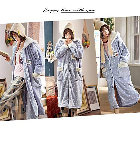 175cm Pijamas Y Bata Damas Bathrobex Cálido 70kg Suave 170cm60 85kg Bañonuevo Vestido Cómodo De L165 Encaje Xxl170 80 g7gwzqf