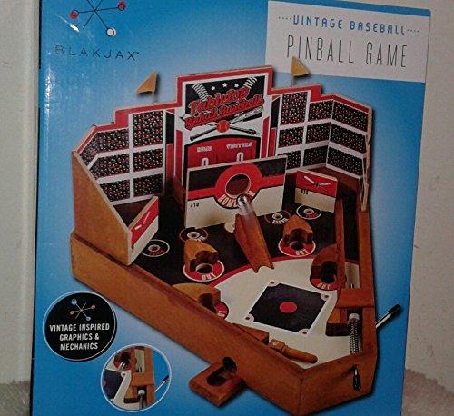 New Vintage Tabletop Baseball Pinball Game by Blakjax