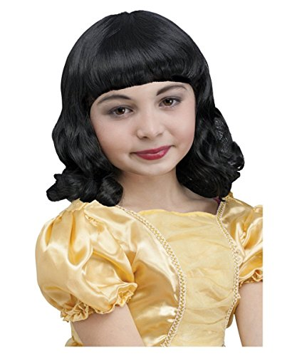 Pretty Princess Snow White Girls (Snow White Wig Child)