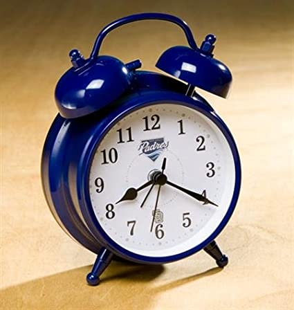 Amazon.com : San go Padres MLB Vintage Alarm Clock (small ...