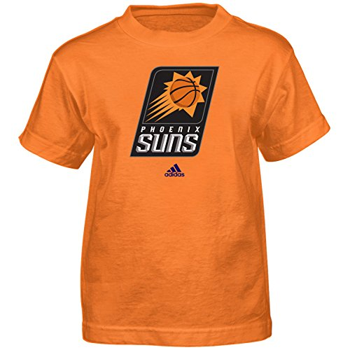 - NBA Phoenix Suns Boys Full Primary Logo Short Sleeve Tee, Medium (5-6), Orange