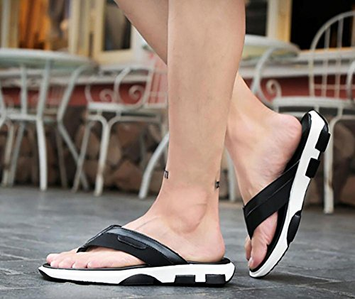 2017 flip cloth 39 slip sandals toe 2 simple sandals flats non summer splicing men's clip shoes casual BUBqfxwrI