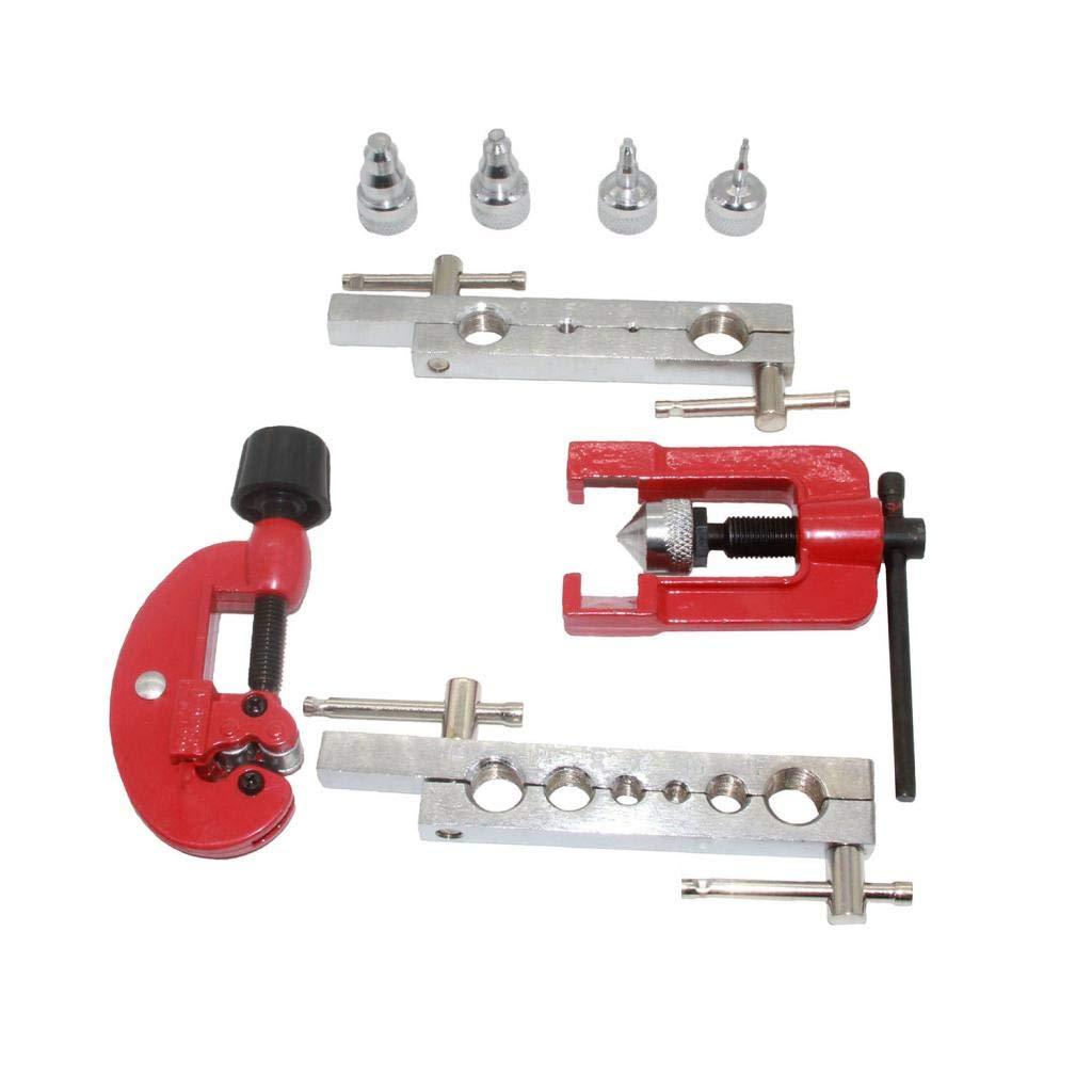 Sharplace Expansor de Tubo de Cobre Kit de Establecer Herramientas Reparaci/ón Instalaci/ón del Aire Acondicionador