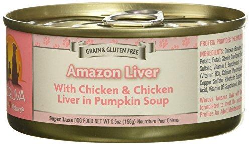 Weruva Amazon Liver Canned Dog Food Case 5.5oz
