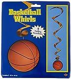 Basketball Whirls   (5/Pkg)