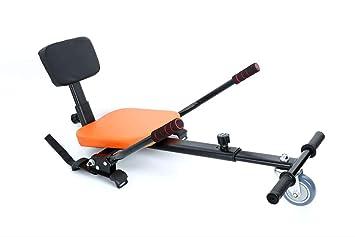 Amazon.com: Go Kart Hover Board, dos ruedas giratorias coche ...