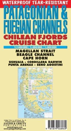84c295eecf1 ... Eye Chart Waterproof Visual Testing Chart. Patagonian   Fuegian  Channels Waterproof Map  Chilean Fjords Cruise Chart - Cape Horn