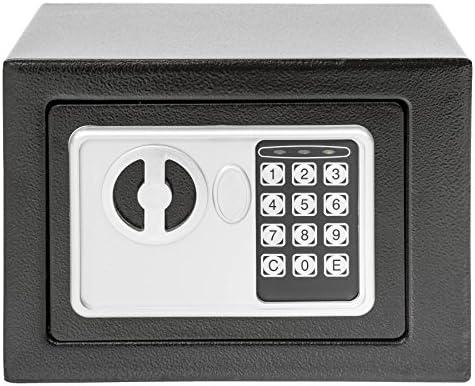 TecTake - Caja fuerte de pared, numérica, digital electrónica, 17 ...