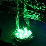 LED Submersible Light Kit, Submersible flower design,creating multicolor lighting effect(1 pack)