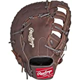 Rawlings Sporting Goods Player Preferred Fist Base Mitts, Brown, Size 12.5, Right Hand