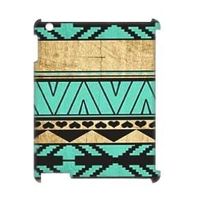 taoyix diy Aztec Wood 3D-Printed ZLB517581 Brand New 3D Cover Case for Ipad 2,3,4