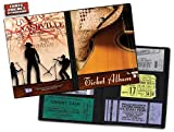 Country Concert Ticket Album