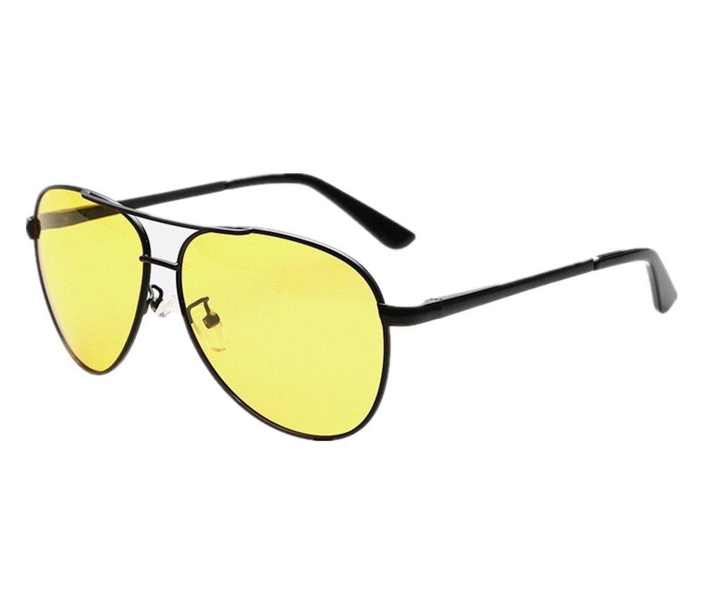 Wonzone Mens Night View Vision Polarized Glasses Drivers Sunglasses Goggles
