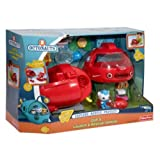 Octonauts Gup-X launch rescue vehicle 4 slime disks stretcher and transport tank by MegaDeal
