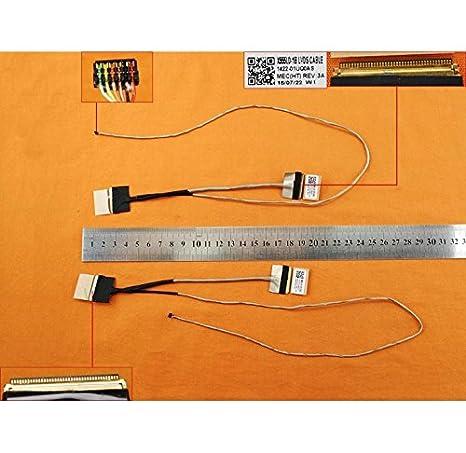 Flex Kabel Asus x555ld-1b X555L w509l DX992/K555/A555/F555/A555L F555L K555L R556L x554l X555LD y583l LCD//LED Cable 1422/ /01uq0as