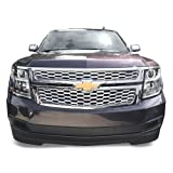 2015 2016 2017 Chevy Tahoe Suburban LS /LT Chrome Grille Overlay (2 Pieces Kit)