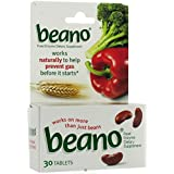 Beano Tablets, 30-Count (Pack of 2)